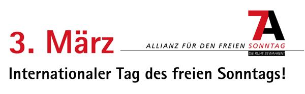 3 m rz tag des freien sonntags sonntagsschutz politik themen kab deutschlands e v. Black Bedroom Furniture Sets. Home Design Ideas